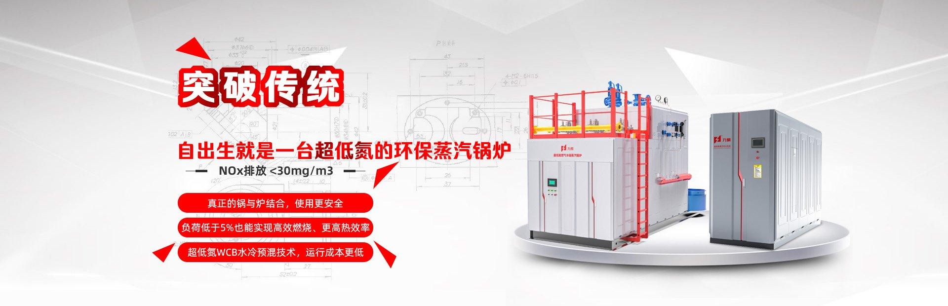 超低氮燃氣蒸汽、熱水鍋爐