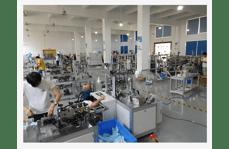 One driven one high speed mask machine workshop