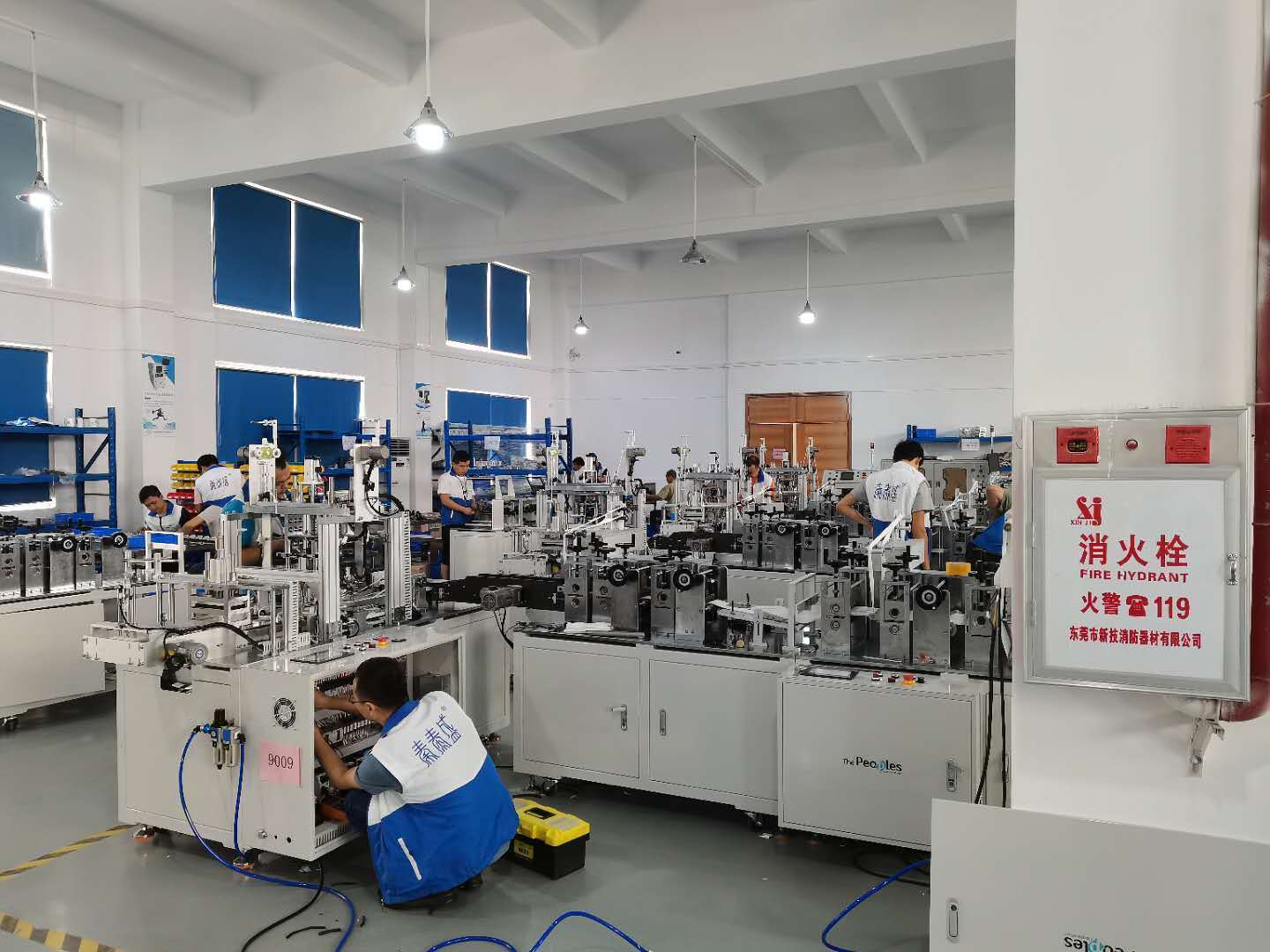 Causes of defective products produced by fish mouth type automatic mask machine