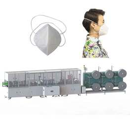 Fully automatic headband folding mask machine