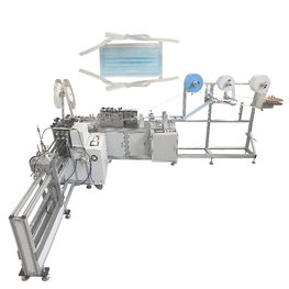 Automatic bandage mask machine