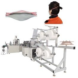 Automatic Feeding Folded Mask Headband Machine