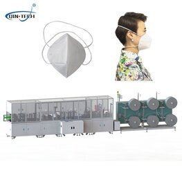 Ffp2 Kn95 Disposable Surgical N95 Mask Fully Automaking Machine