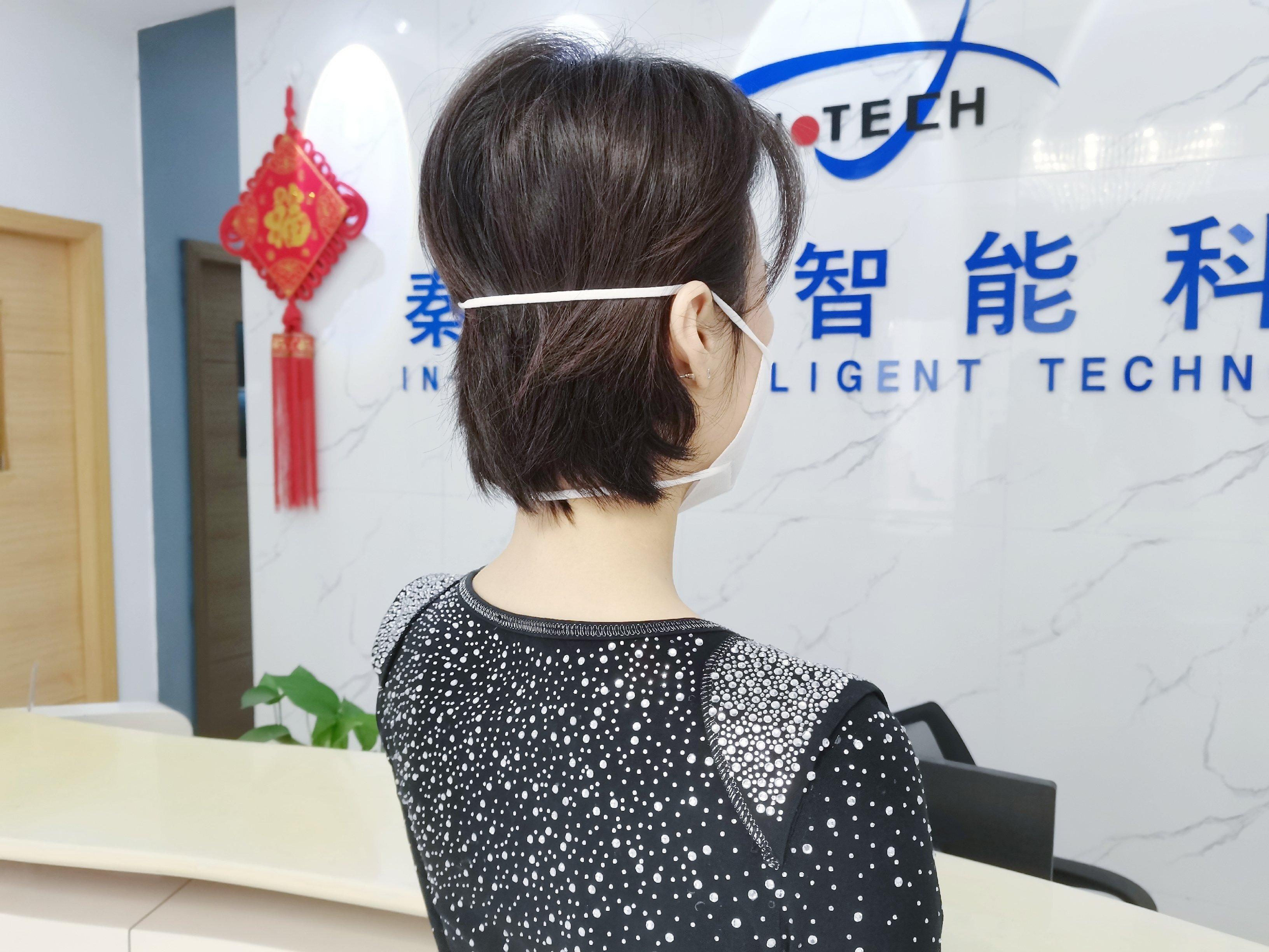 High Speed Automatic Headband Folding Mask Machine