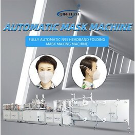 Fully automatic N95/KN95 mask production line