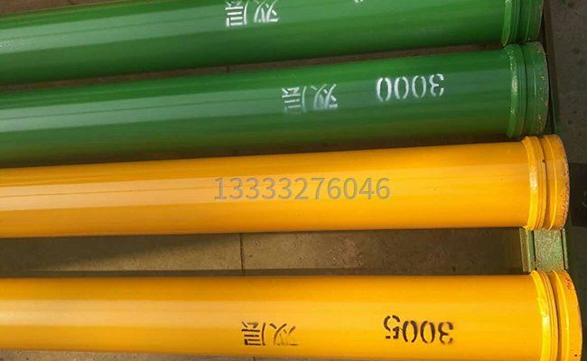 6万方双层耐磨泵管的图片