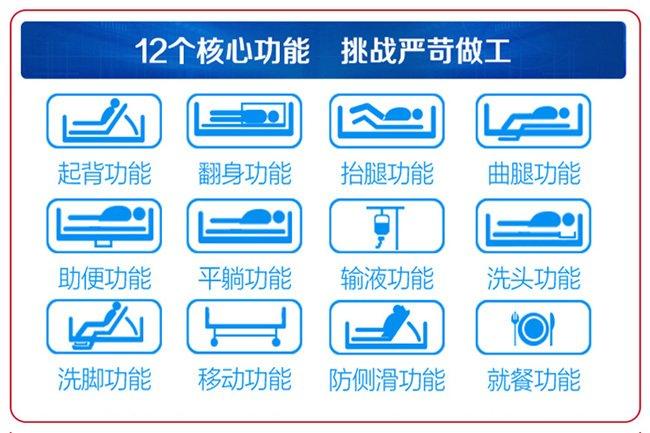 手摇电动护理床结构是否符合护理的要求