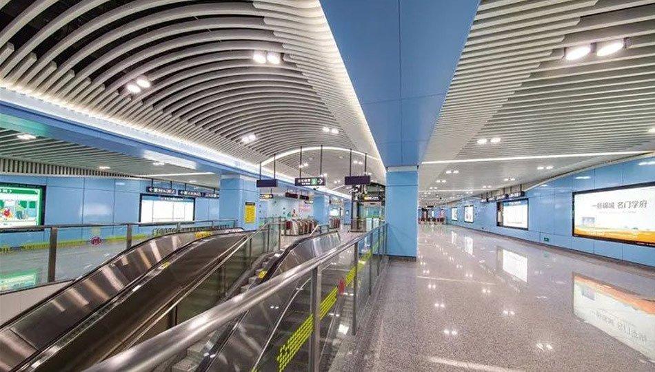 杭州临安科技城地铁站综合楼