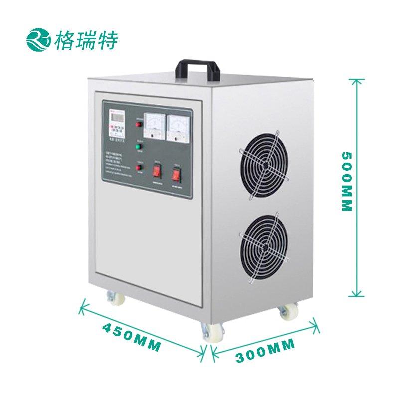GRT-112-50g空间臭氧机尺寸标注