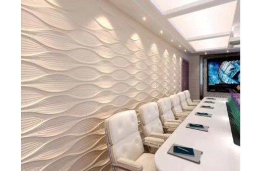 新型墻面裝飾材料-三維板的應用