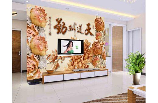 3D背景墙-新型的装饰材料