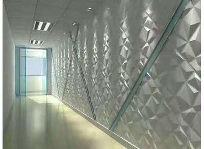 工廠裝飾墻三維板