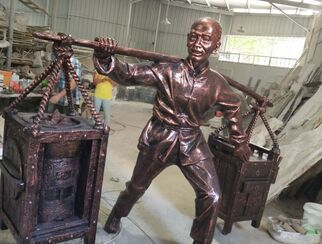 鑄銅雕塑案例