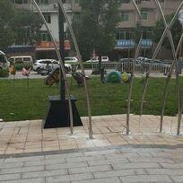 玻璃鋼廣場雕塑17