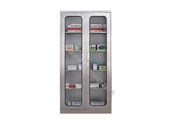 不锈钢通玻器械柜