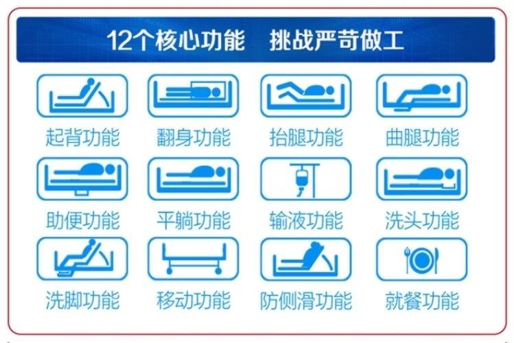 使用老人瘫痪家用护理床怎样保证老人的安全