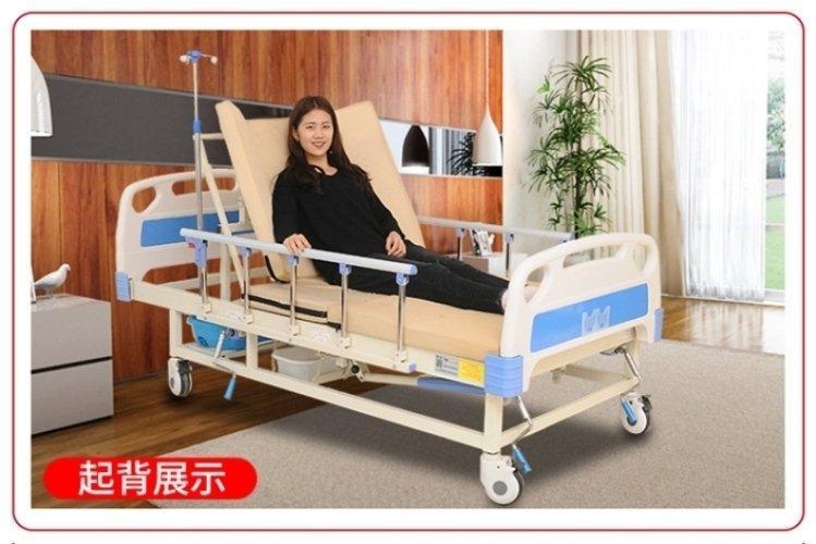 家用护理床便孔结构展示
