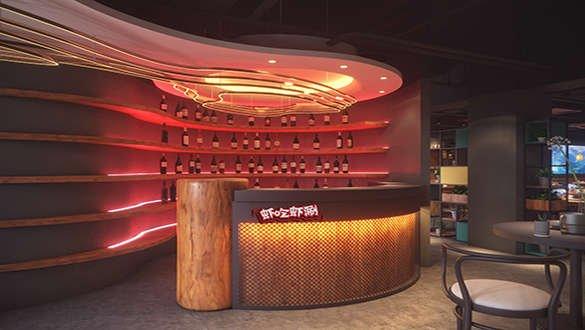 火锅店独特装修设计