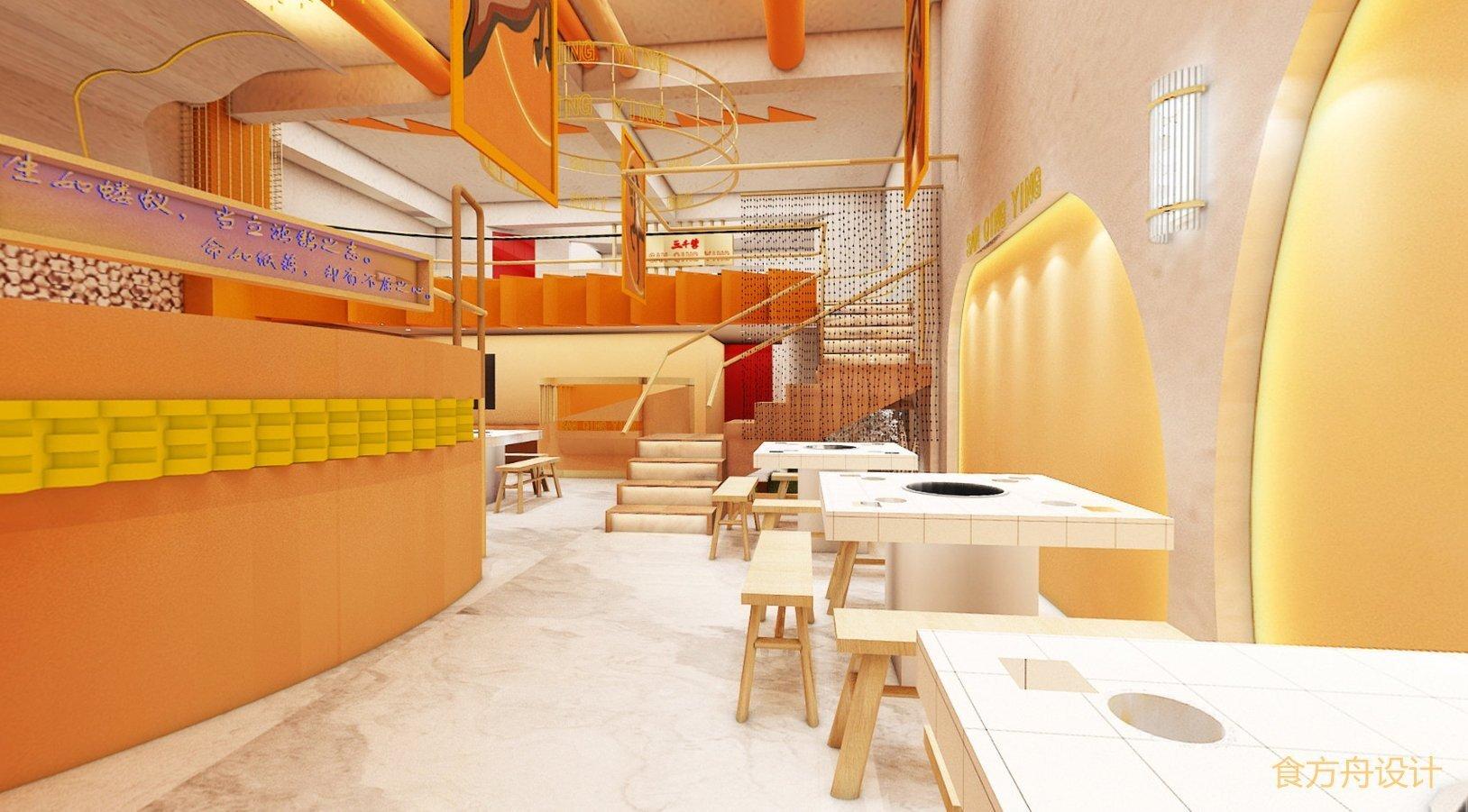 餐饮装修中基本功能区域的设计