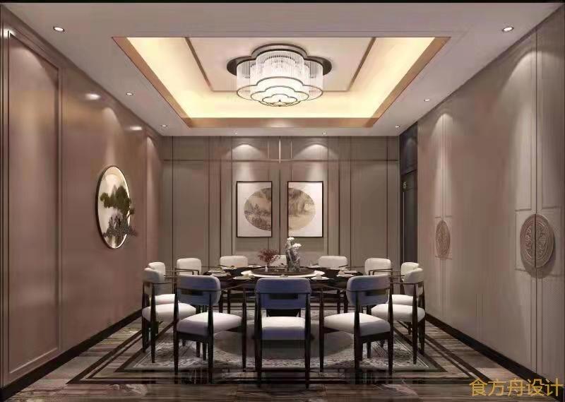 西藏江南风格火锅店设计