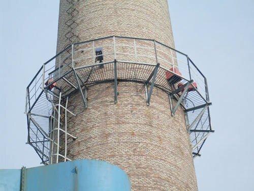 烟囱工程建筑施工顺序
