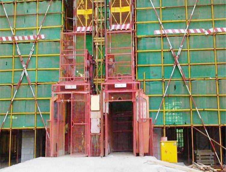 建筑物料升降机安装常见问题