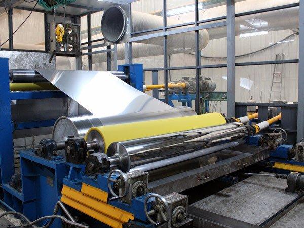 冰箱压花铝板卷材生产线