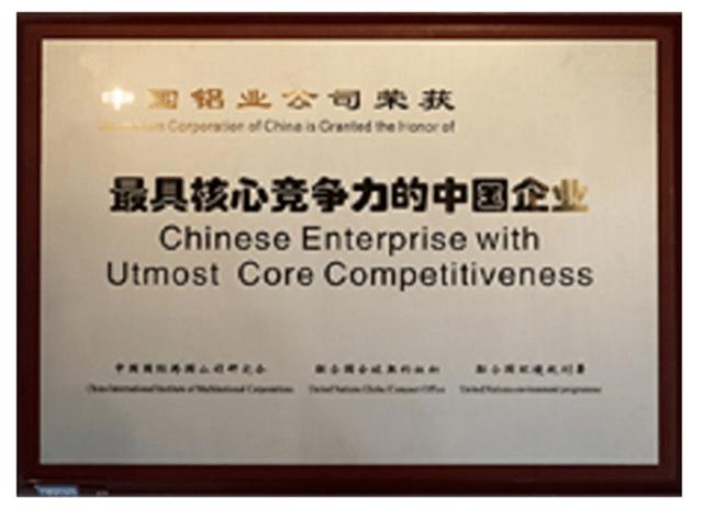最具核心竞争力的中国企业