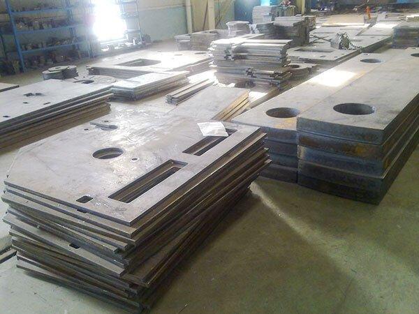 钢板切割加工-1