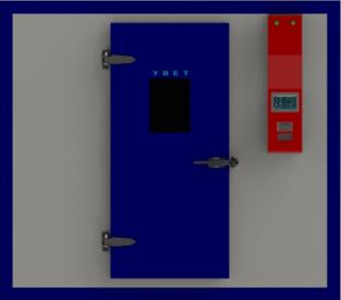 步入式药品稳定性试验室