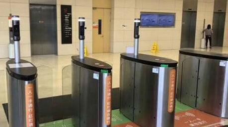 上海宝山区楼宇动态识别闸机通道多少钱一套