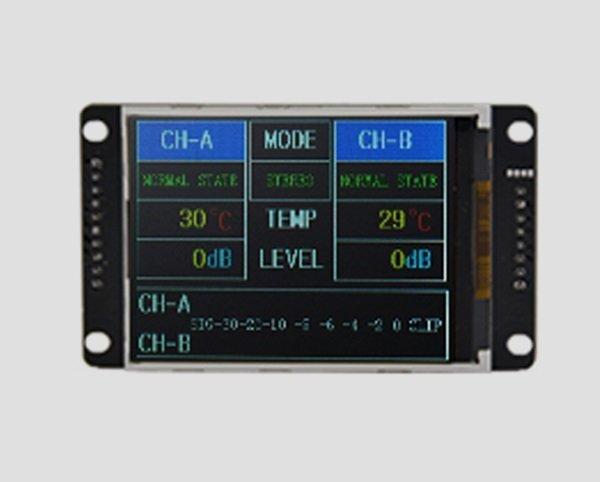 两通道_四通道音响功放功能TFT显示模块
