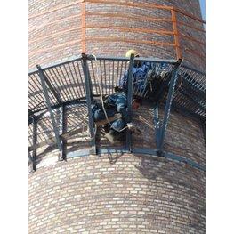烟囱检测平台维修