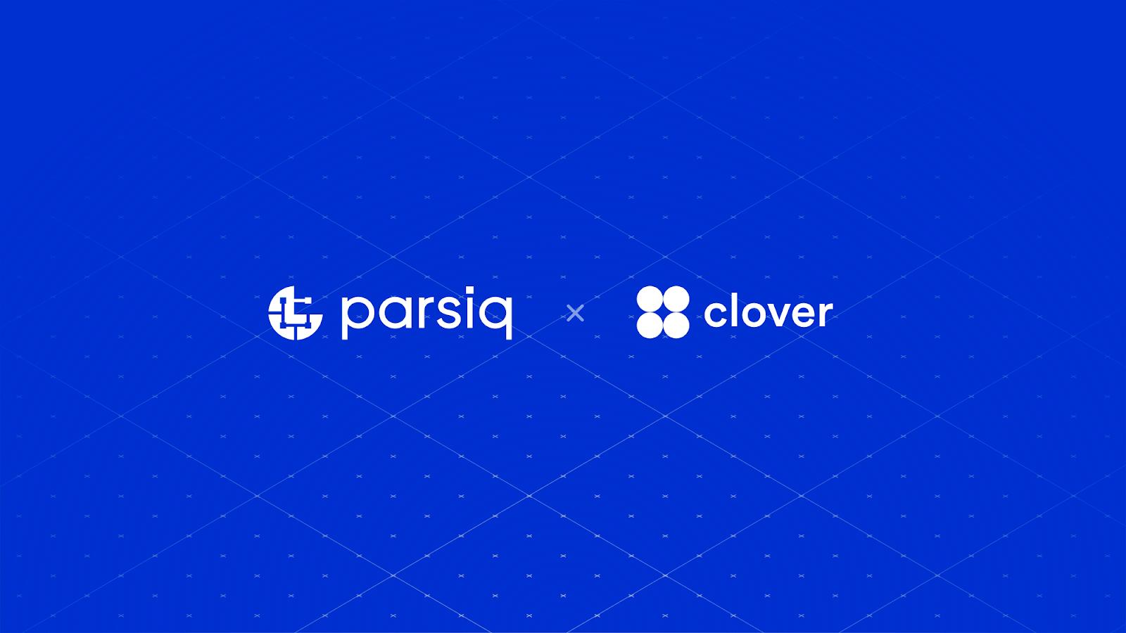PARSIQ与Clover达成合作