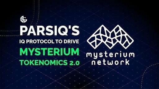 Mysterium Network将整合PARSIQ的