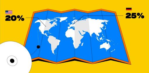 世界各国如何对数字资产征税
