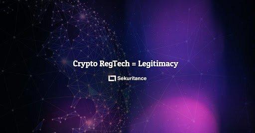 CRYPTO(数字资产)需要REGTECH(监管科技)来确保其合法性
