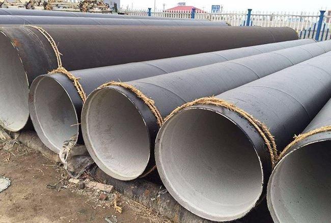 化工厂用水泥砂浆防腐钢管
