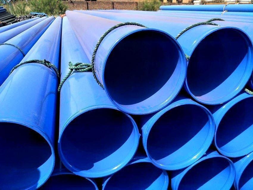 埋地输水用内外涂塑钢管
