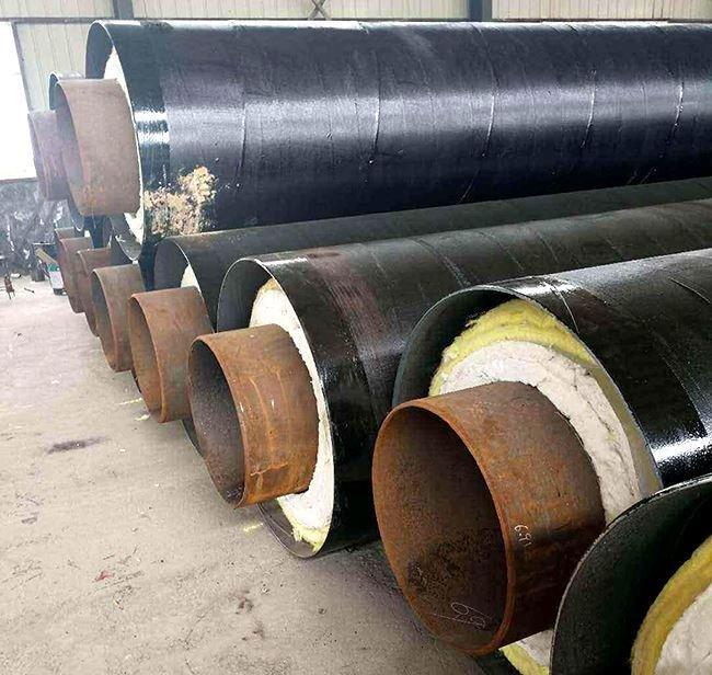 电厂蒸汽用钢套钢保温管