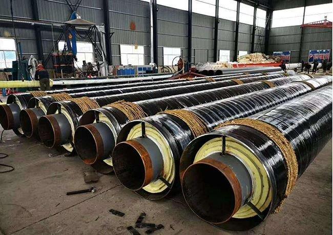 燃气用钢套钢保温管厂