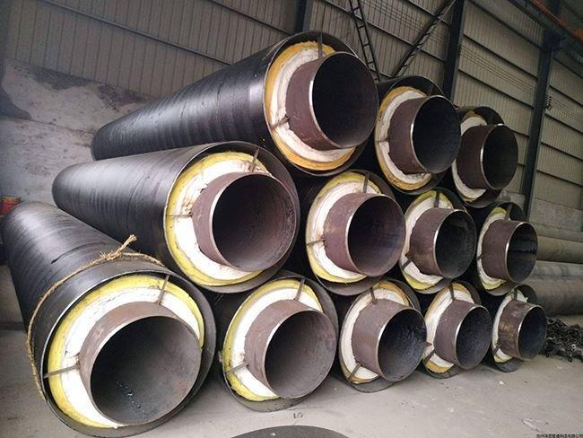 供暖用钢套钢保温管