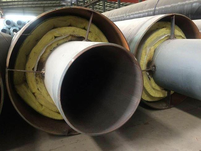 输水用预制直埋钢套钢保温管