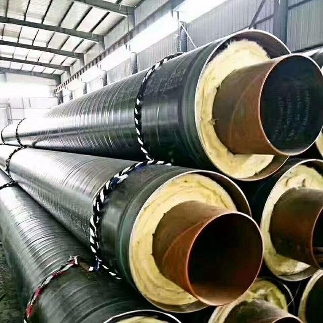 循环水用钢套钢保温钢管