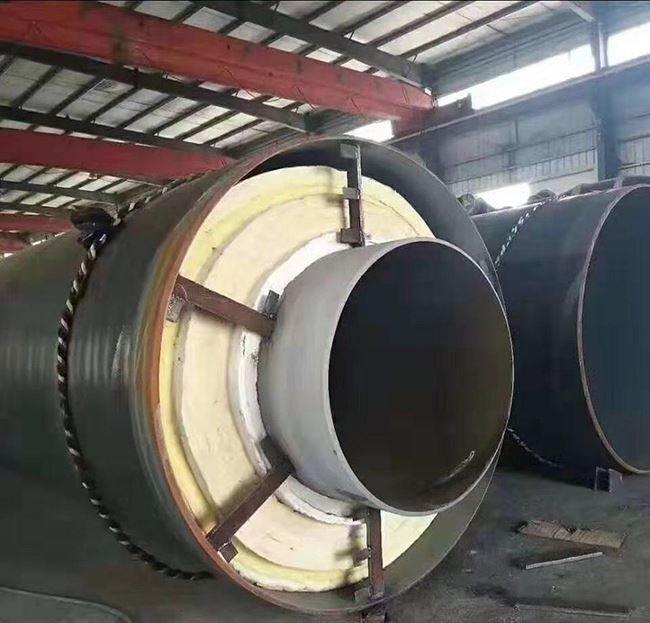 钢套钢蒸汽输送用保温钢管