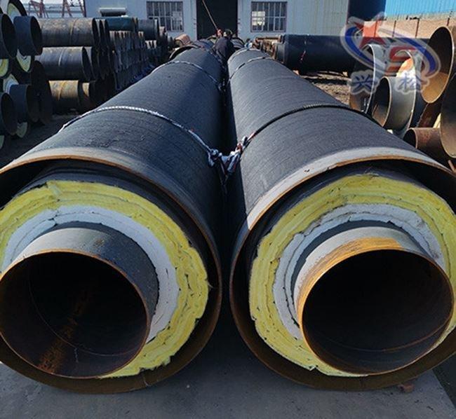 钢套钢蒸汽保温无缝钢管厂家