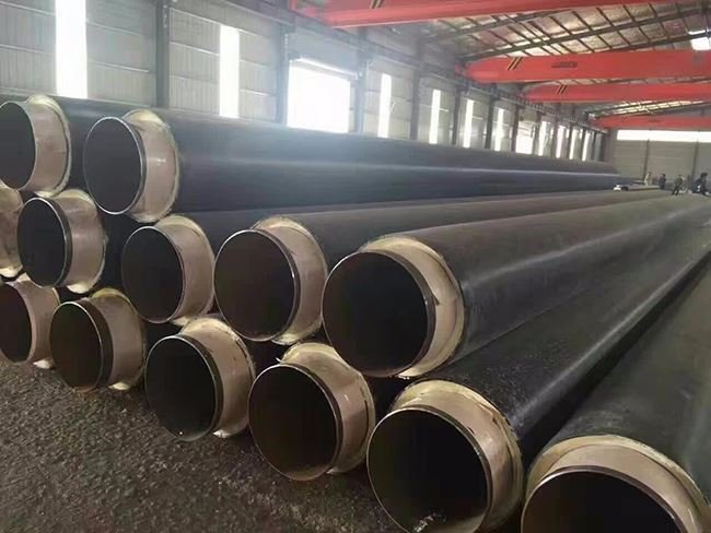 热力管道用蒸汽直埋保温钢管