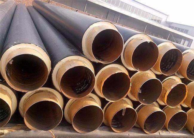 市政供暖工程用聚氨酯保温钢管