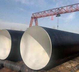 污水管道环氧煤沥青防腐钢管