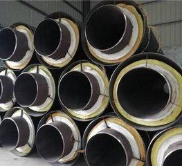 钢套钢蒸汽输送岩棉保温钢管